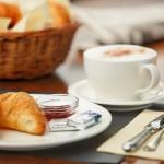 Frühstücksbuffet im Hotel arcade - breakfast buffet hotel arcade