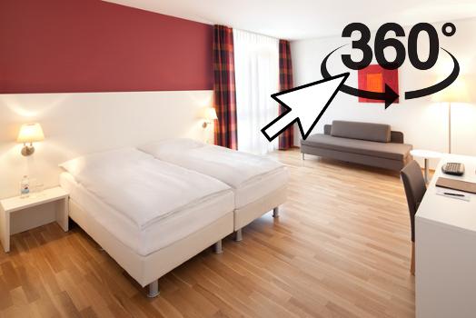 Familienzimmer mit 2Einzelbetten(1.80m)